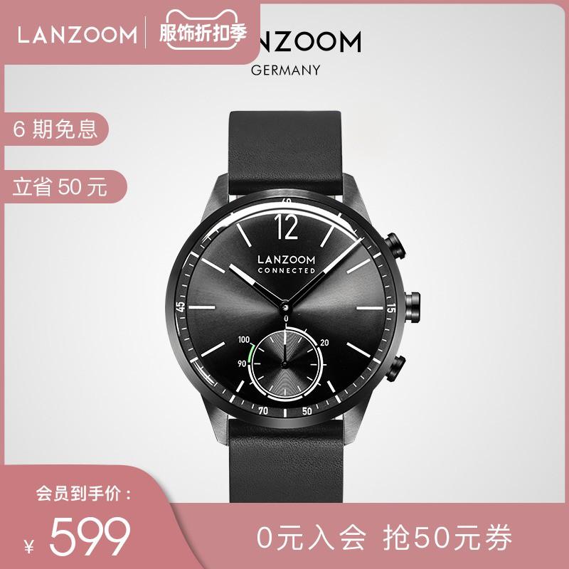 ♣♗Blue Race LANZOOM นาฬิกาข้อมือผู้ชาย นาฬิกาข้อมือผู้ชาย มัลติฟังก์ชั่น กีฬา กันน้ำ ปรับตัวได้ สมาร์ทโฟน กล้อง แฟชั่นสำ