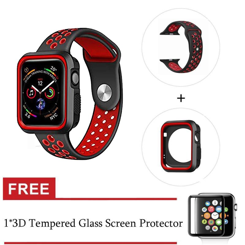 Apple Watch Case+strap Series 4 3 2 1 40mm/44mm 38mm/42mm Shock Protective Cover iWatch Series 4