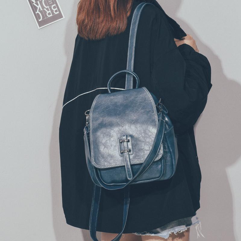 ¢℅🔥จัดส่งที่รวดเร็ว🔥กระเป๋าเป้เดินทางพักผ่อนขนาดใหญ่Ruofeng กระเป๋าเป้สะพายหลังย้อนยุคสไตล์เกาหลีกระเป๋าใบเล็ก2020ใหม่