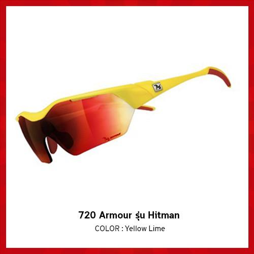 แว่นตาจักรยาน 720 Armour รุ่น Hitman สี Yellow Lime