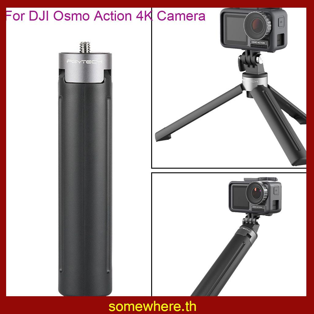 somewhere🎁PGYTECH Mini Desktop Tripod Holder Bracket Mount DJI Osmo Action 4K C