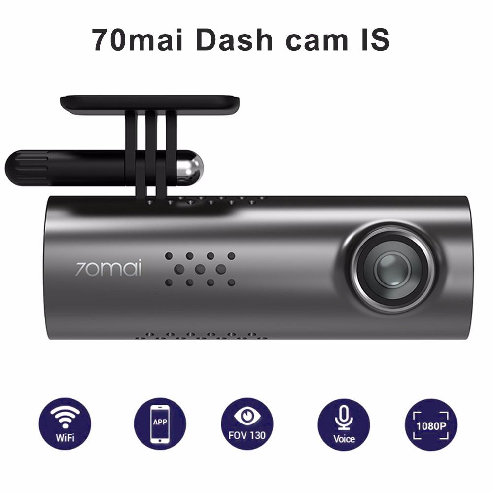 กล้องวงจรปิด Xiaomi 70mai Smart Dash Cam S 70 Mai 1S 1080 P HD Night V