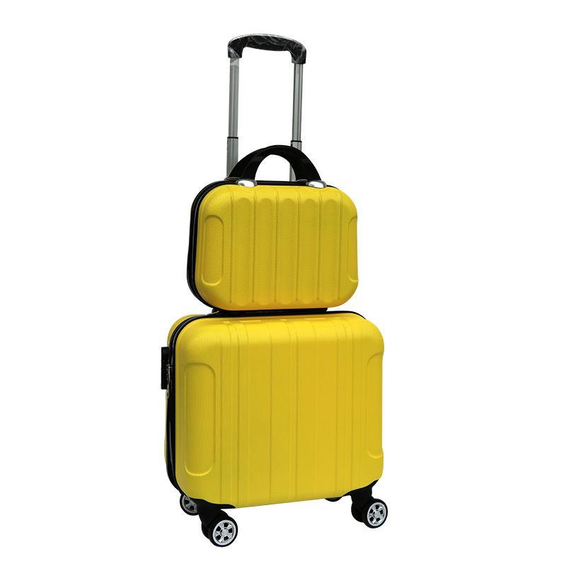 กระเป๋าแต่งหน้าน่ารัก 14 แบบเกาหลี, กระเป๋าเดินทางขนาดเล็ก, กระเป๋าหนังชาย 16 ใบ, กระเป๋าเดินทางล้อลาก 18 มินิ 20 นิ้วส