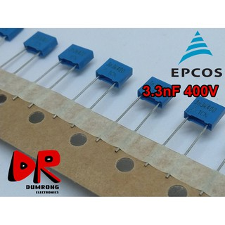 400V 2.2NF MKT polyester film capacitor 2200pf 222j Electronic Components