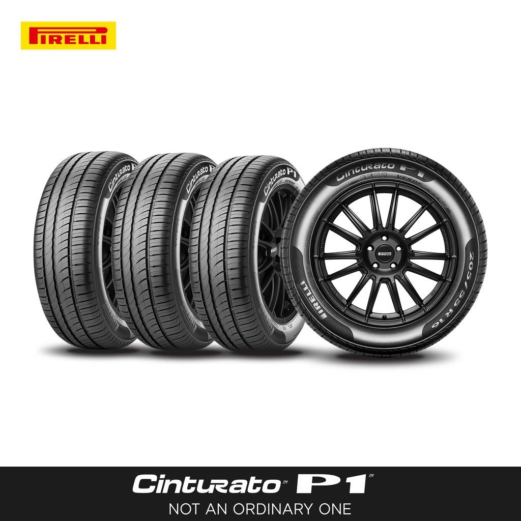 [ติดตั้งฟรี 185/65R14] PIRELLI ยางรถยนต์ รุ่น CINTURATO P1 (4 เส้น) (สอบถามสต็อกก่อนสั่งซื้อ)
