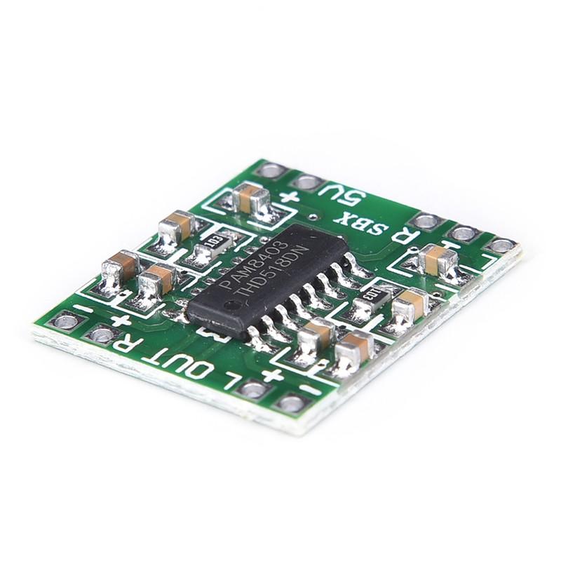 $ TH PAM 8403 2 X 3 W Mini Audio Class D Amplifier Board 2 5-5 V Input