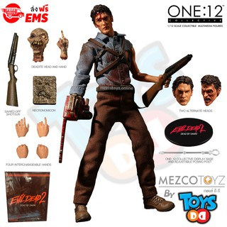 Evil Dead 2 Ash One:12 Collective Mezco Toys Collectable Figure 1:12 Scale New