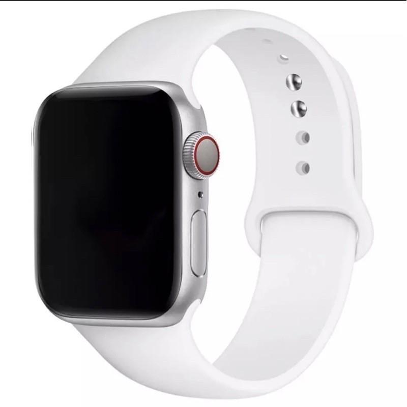 พร้อมส่ง‼️สายสำหรับ Apple Watch สีมาใหม่ series 6 5 4 3 2 1 สำหรับ applewatch ขนาด  42mm 44mm 38mm 40mm Dh0P