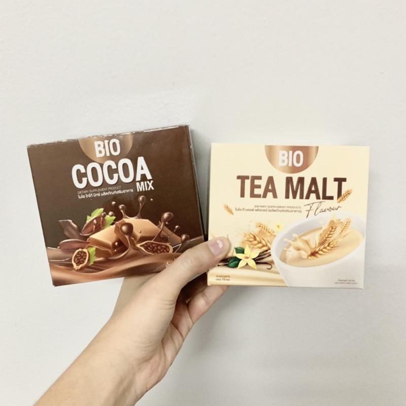 ⚡️แบ่งขาย⚡️ BIO COCOA และ TEA MALT ของแท้ 100% ไบโอโกโก้ดีทอกซ์