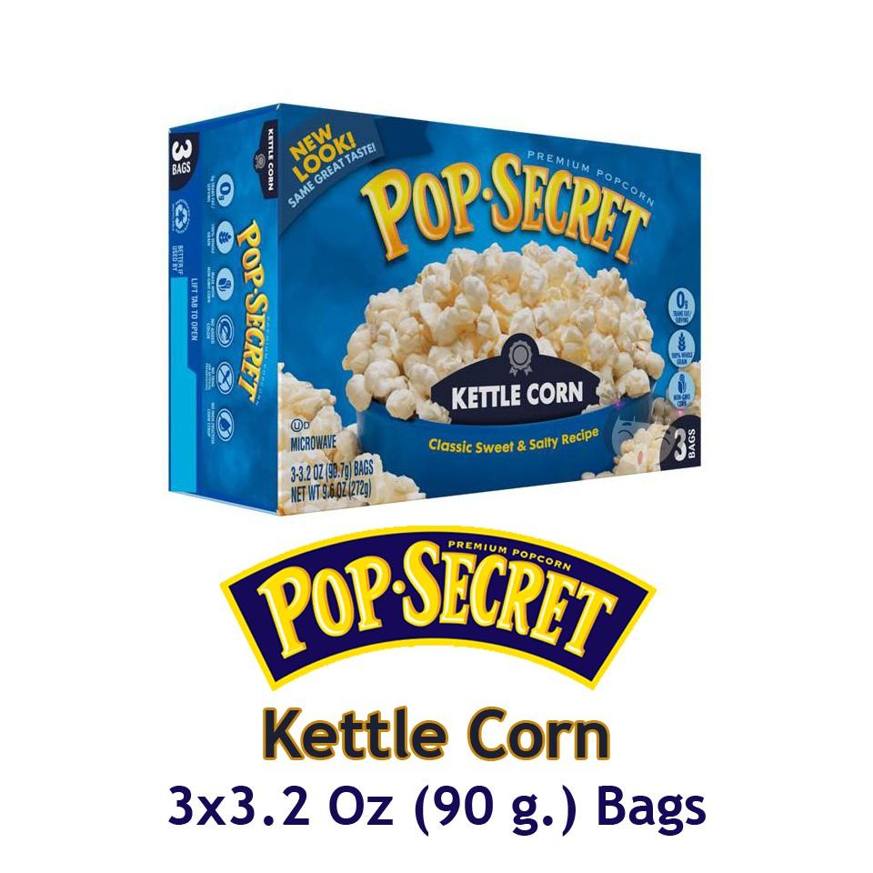 Popcorn Pop Secret สำหร บไมโครเวฟ