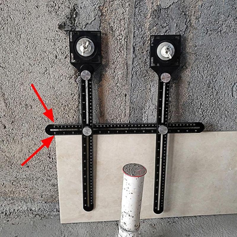 Plastic Center Finder Centre Measuring Round Cylinder Milling Machine Tool