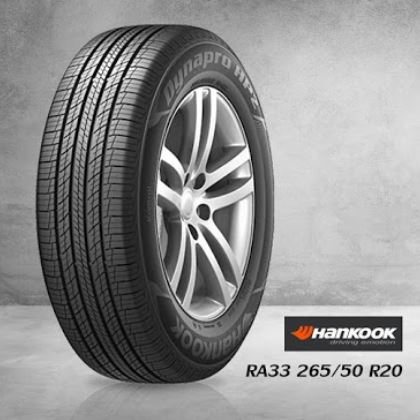 Hankook รุ่น Dynapro HP2 - RA33 265/50 R20 ปี19