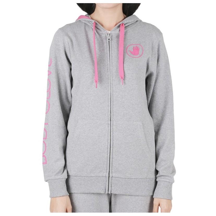 เสื้อฮู้ด บอดี้โกลฟ BODY GLOVE Sport Casual Hoodies เสื้อฮู้ดแขนยาว ผู้หญิง รุ่น Interlock