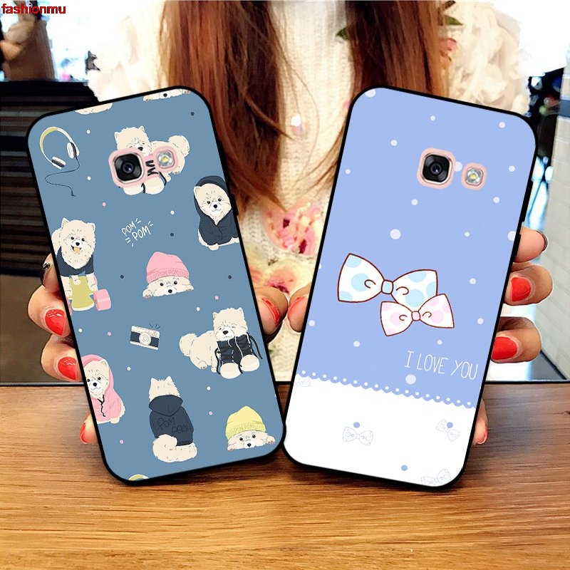 Samsung A3 A5 A6 A7 A8 A9 Pro Star Plus 2015 2016 2017 2018 HHDW Pattern-3 Silicon Case Cover