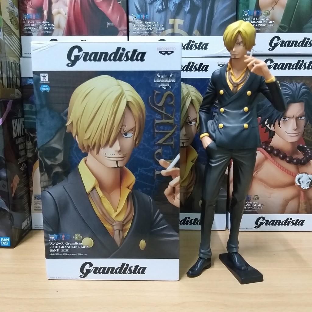 Grandista The Grandline Men Sanji DX Pvc Figure Banpresto ONE PIECE