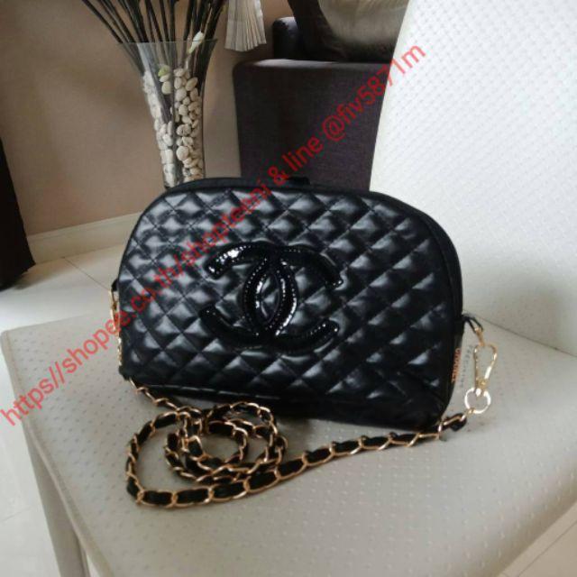 NEW ARRIVAL!! สวยหรูไม่ซ้ำใคร 👑 ต้องยกให้ Chanel Clutch Bag With Chain VIP  Gift