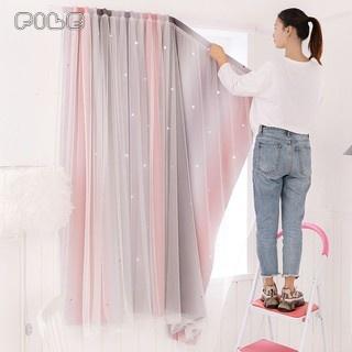 FILE🔥ม่าน ผ้าม่าน ผ้าม่านหน้าต่าง ผ้าม่านประตู ผ้าม่าน UV สำเร็จรูป  กันแดดดี ติดแบบตีนตุ๊กแก ผ้าม่านเวลโคร