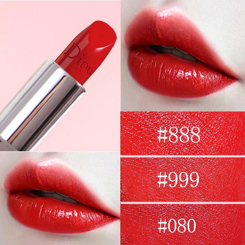 ▩ﺴ☃แบรนด์ใหญ่ของแท้ Dior Yafei 999 lipstick official female limited niche brand student model sample 888 gift box