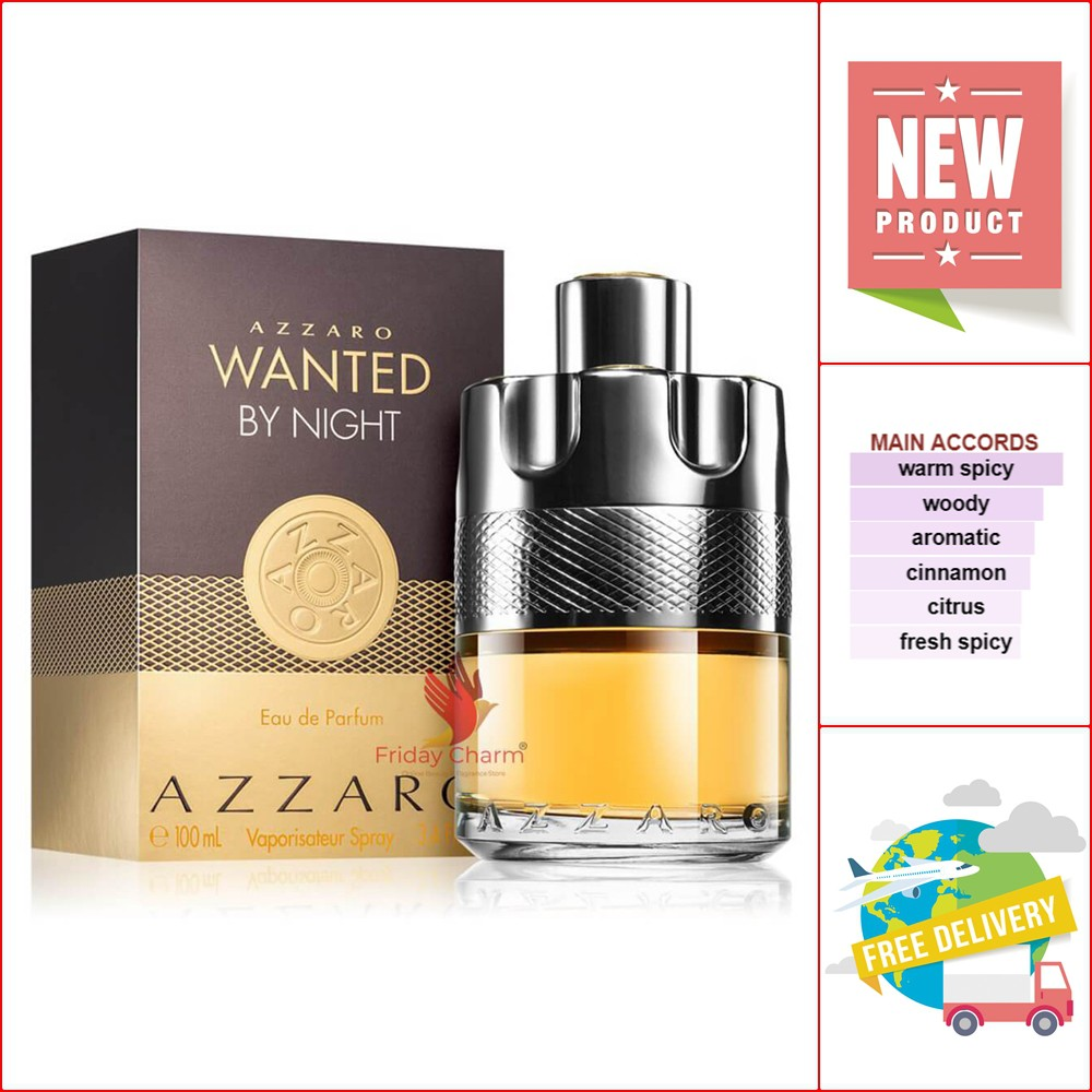 Azzaro Wanted by Night EDP 100 ml.
