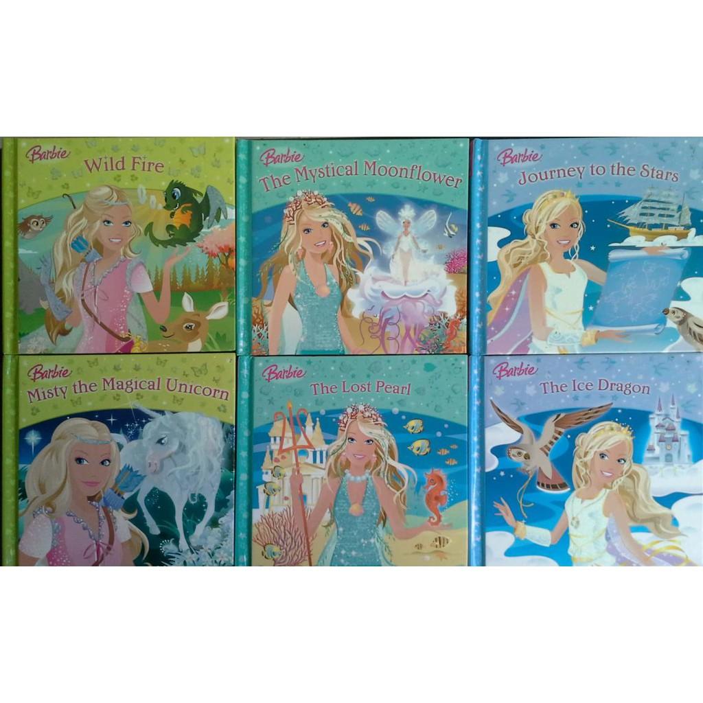 Barbie story - 6 books