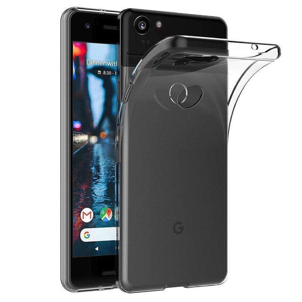 Review Google Pixel 3 XL 3 Case - Clear Thin Soft TPU Silicone Back Cover