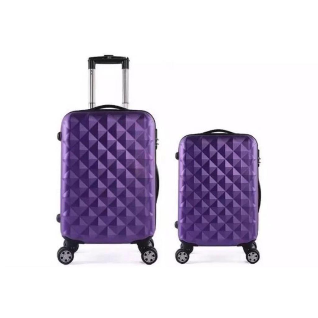 กระเป๋าเดินทาง Abs แบบแข็ง 20 นิ้ว + 24 นิ้ว