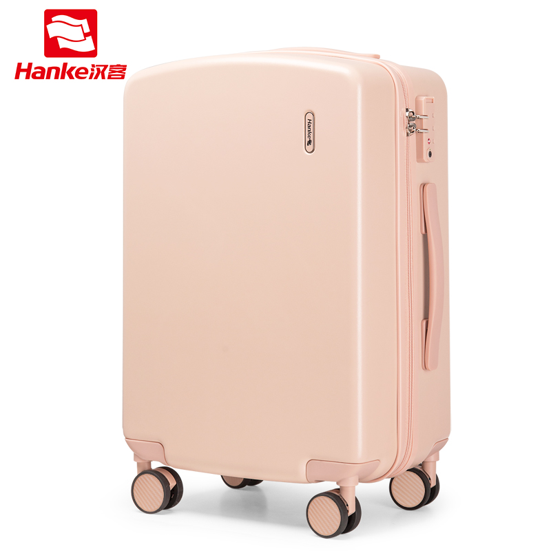 กระเป๋าเดินทาง汉客拉杆箱女行李箱万向轮密码旅行箱轻便18-กระเป๋าเดินทางโครงบอร์ดขนาดนิ้ว24-กระเป๋าเดินทางขนาดนิ้วcod 5GiC