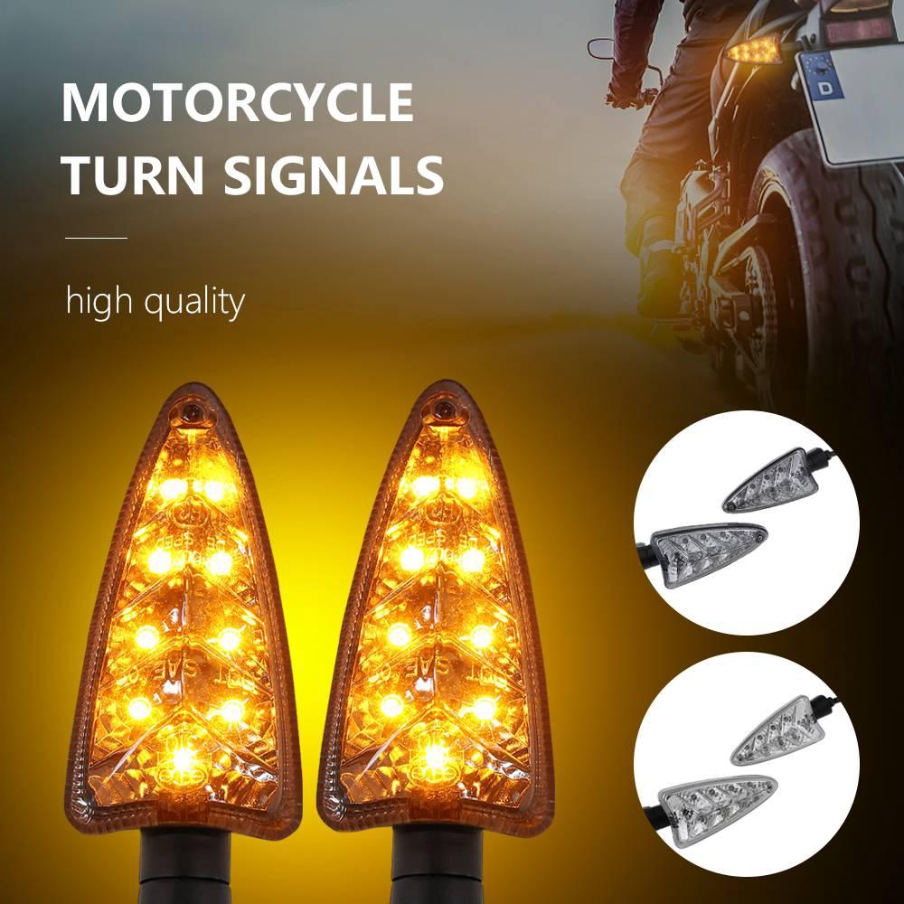 LED Turn Signal Light For Triumph Daytona 675//R Tiger 800//XC Speed Triple 1050
