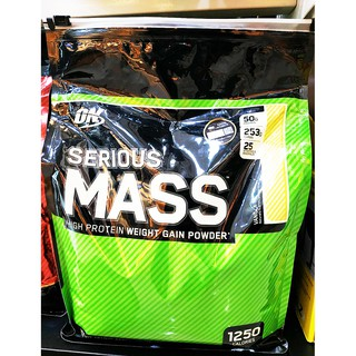 Review of ON Serious Mass 12 lbs.
