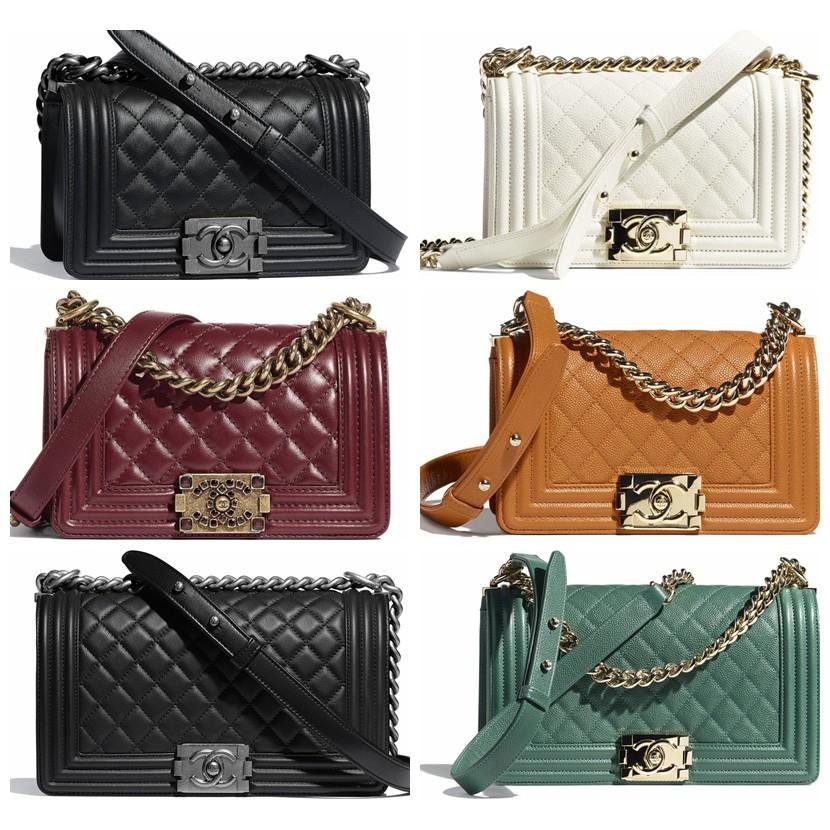 Chanel / BOY CHANEL / กระเป๋าสะพายข้าง /