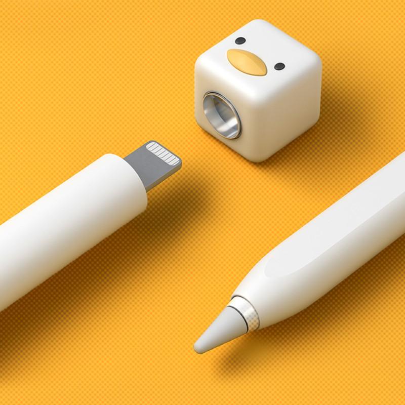 ☇ผลิตภัณฑ์พัฒนาผลิตภัณฑ์ applepencil pen cover apple protective ipencil ipad pencil first generation second nib capacit