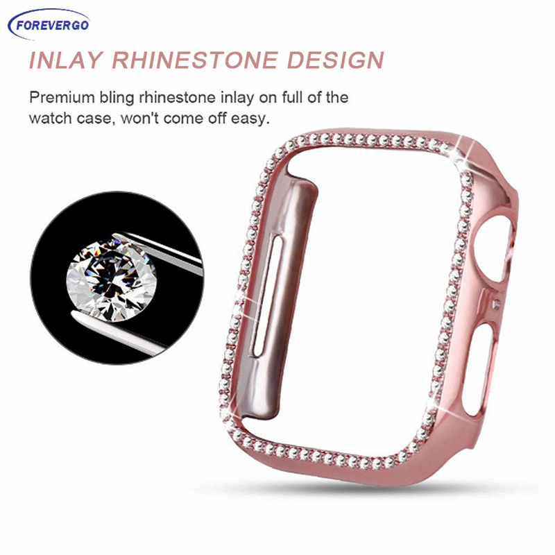 RE Watch Case For Apple watch 44mm 40mm 42mm 38mm Protector Cover Apple watch series 5 4 3 2 1 Accessories