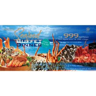 Seafood Buffet Voucher