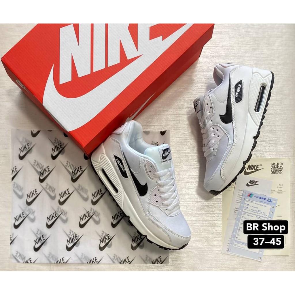 ข้อเสนอพิเศษ[Sneaker.Run] รองเท้าNike Air Max 90 รองเท้ากีฬา รองเท้าวิ่ง รองเท้าผ้าใบชาย-หญิง สินค้าถ่ายจากงานจริง100%