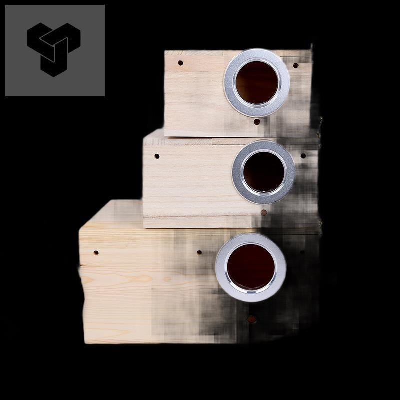 □รังนกเสือซวนเฟิง บันไดศูนย์บ่มเพาะรังนกกล่องกรงนกอุปกรณ์ไม้อุ่น