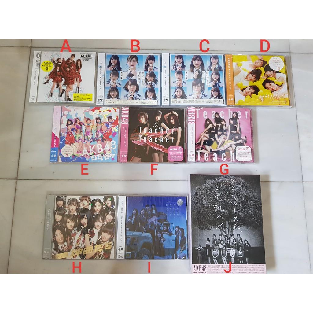 AKB48 CD DVD มือ1 [ Kuchibiru ni Be My Baby / Teacher Teacher / Negaigoto no Mochigusare / sukinanda / Jabaja / album ]