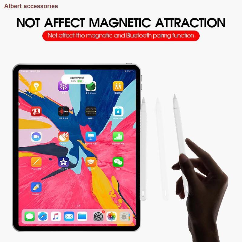 ❄❏พร้อมส่ง🇹🇭ปลอกปากกา applepencil รุ่น 2 ปลอก ปากกา ซิลิโคน เคสปากกา Silicone Apple Case (ฝา ชิ้น) เคสปากกาไอแพด