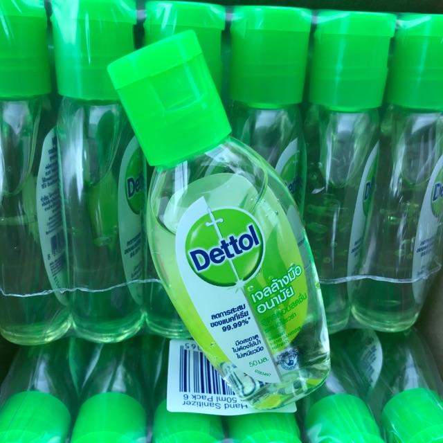 เจลล้างมือ Dettol ขนาด 50ml.