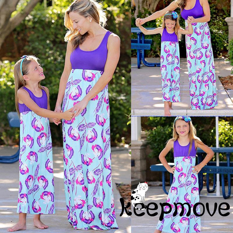 58b394f5a22af MVP-Mother and Daughter Boho Clothes Parent-child dress Family Matching  Outfits