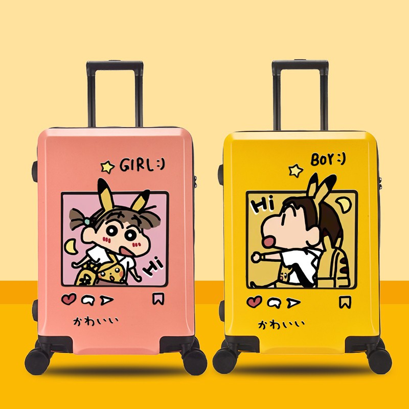 ャ☽ กระเป๋ารถเข็นเดินทาง กระเป๋าเดินทางพกพา กระเป๋าเดินทางเด็ก รถเข็นเด็กกระเป๋าเดินทาง 17 นิ้วกระเป๋าเดินทางการ์ตูนสำหรั