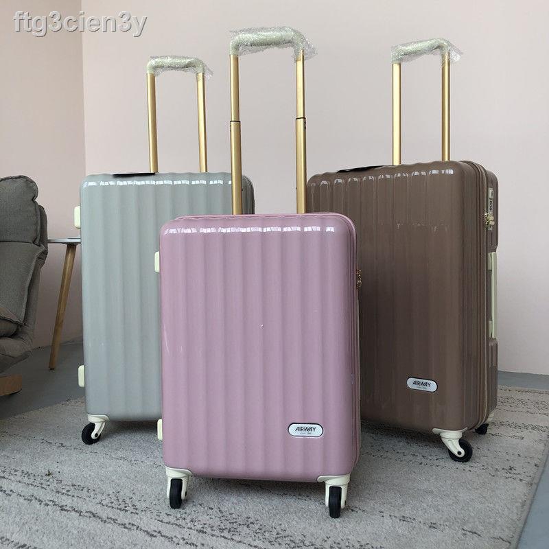 △✔ส่งออกไปญี่ปุ่น กระเป๋าเดินทาง 26 ใบ น้ำหนักเบาสุด เล็กกระทัดรัด นักเรียน 24 กระเป๋าเดินทางใบเล็ก กระเป๋าเดินทางผู้หญิ