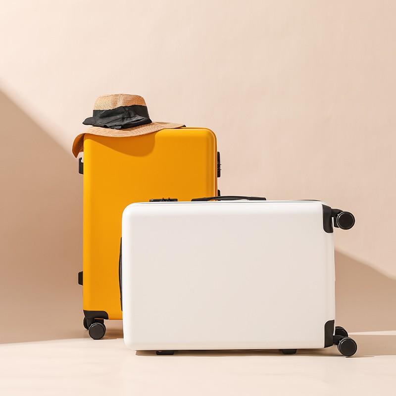 สุทธิสีแดง Ins กระเป๋าเดินทางผู้หญิง24นิ้วรถเข็นขนาดเล็ก20กระเป๋าเดินทางผู้ชายรหัสผ่าน Boarding Pi Xiang Zi ใหม่261