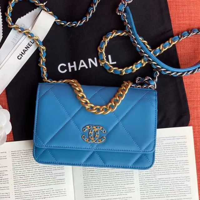 Chanel classic vintage Blue