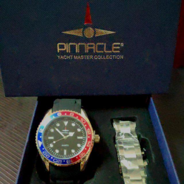 PINNACLE นาฬิกาข้อมือ /กันน้ำ>10m./กันกระแทก
