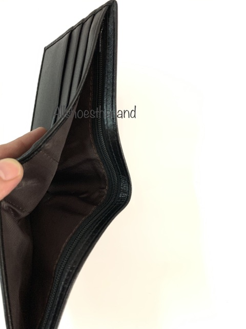 กระเป๋าตังค์ผู้ชายกระเป๋าสตางค์  Devy no.888 หนังแท้ นิ่ม มีที่เก็บเหรียญ และ มีซิปเก็บแบงค์เพิ่มค่ะ GykW