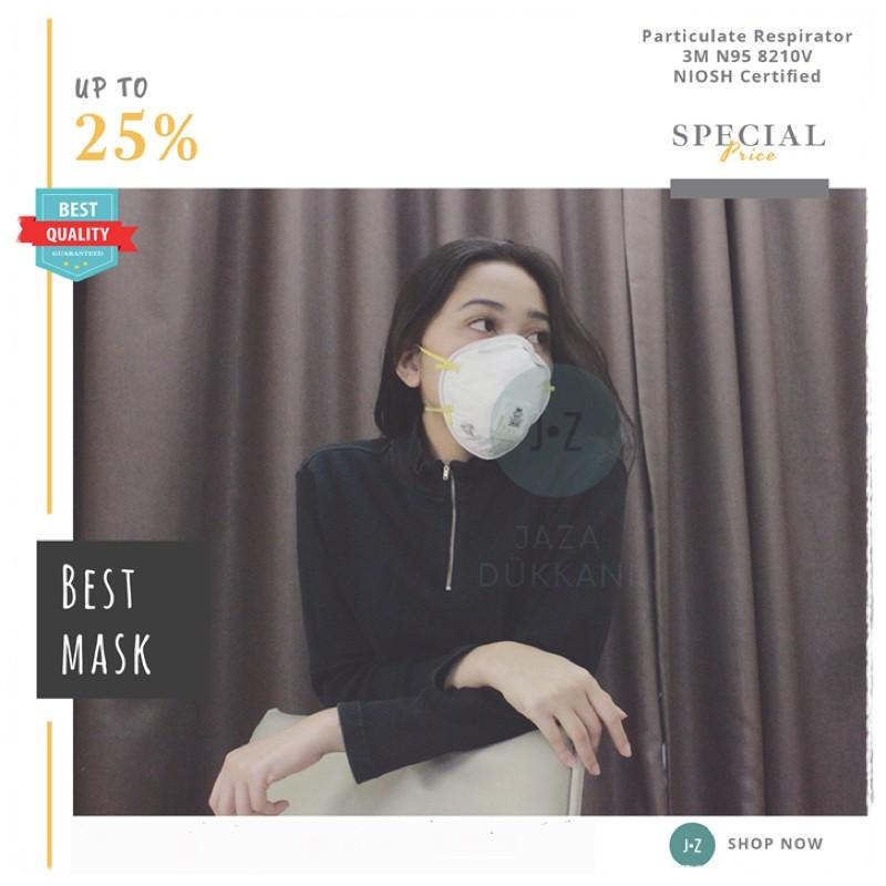 N95 Mask 8210v Particulate 3m มาส์กสําหรับงานปาร์ตี้ 3m