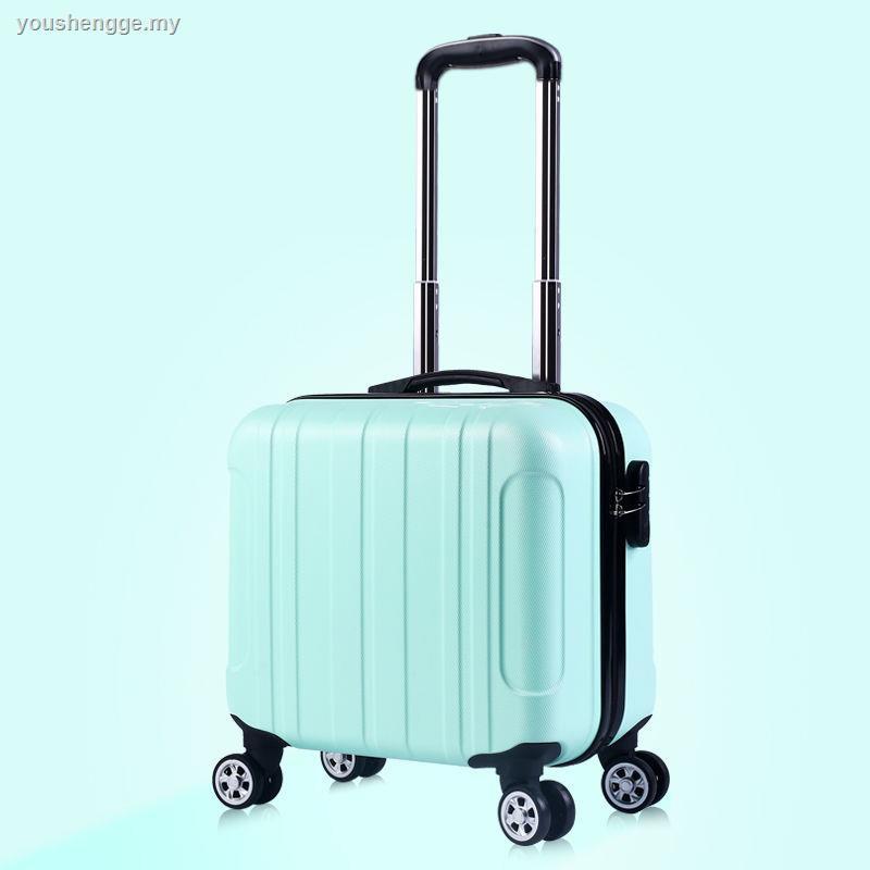 กระเป๋าเดินทางขนาดเล็ก 18 นิ้วสําหรับผู้ชายและผู้หญิง