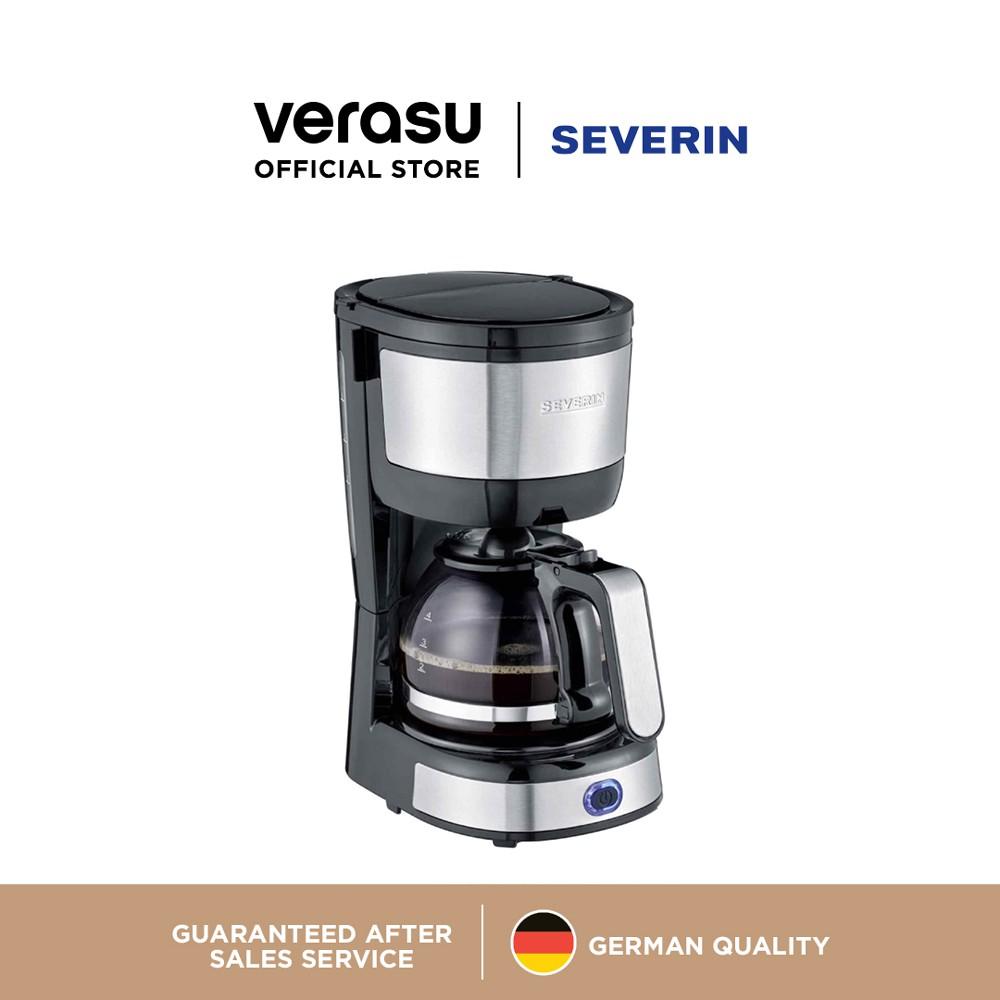 SEVERIN เครื่องชงกาแฟแบบหยด 4 ถ้วย รุ่น SEV-4808 VERASU วีรสุ เครื่องชงกาแฟ เครื่องทำกาแฟ