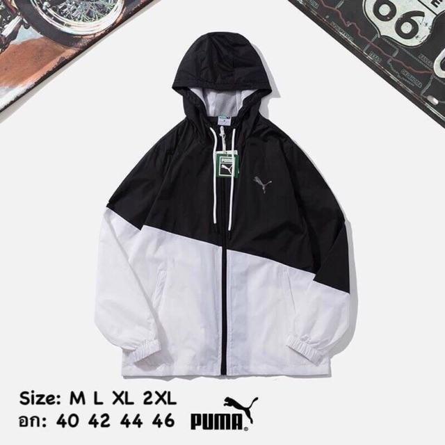 เสื้อแขนยาวผ้าร่ม PUMA