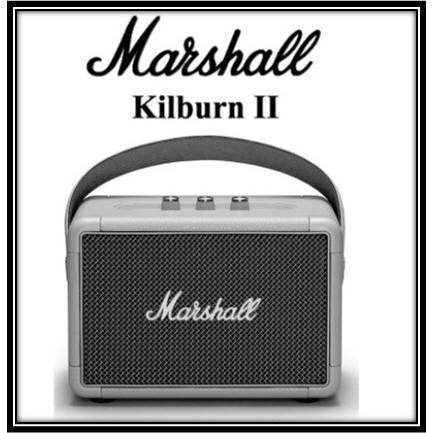ลำโพง Marshall ลำโพงบลูทูธ - Marshall Kilburn II Black【COD】รับประกัน 1 ปี